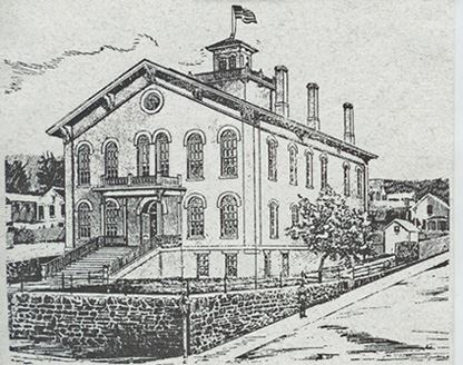Madison County Courthouse Drawing