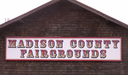 Madison County Fairgrounds Banner
