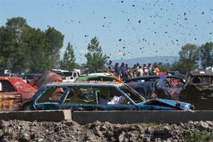 Fire Department Demolition Derby