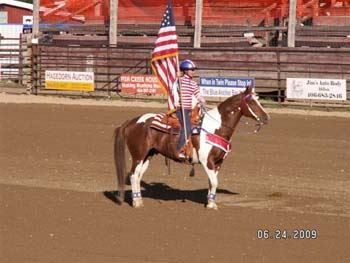 Senior Pro Rodeo Grand Entry